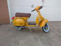 This is a Genuine Stella Scooter it has 1034 miles on