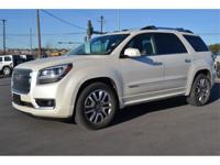 This 2013 Acadia is priced in reference to NADA Values