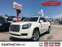 FWD, cocoa Cloth. White Diamond Clearcoat 2013 GMC