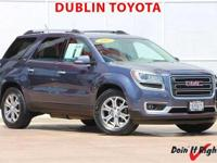 Dublin Toyota is pleased to offer this 2013 GMC Acadia.