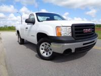 This is an extra clean ONE OWNER non smoker GMC Sierra