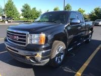 2013 GMC Sierra 1500 SLE, Extended Cab, 4WD, GM