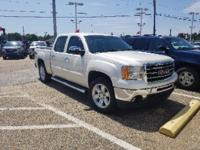 Certified. White Diamond Tricoat 2013 GMC Sierra 1500