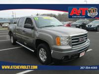 Clean CARFAX. Certified. Steel Gray Metallic 2013 GMC