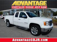 This White 2013 GMC Sierra 1500 has LOW Miles!! With a