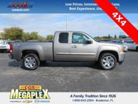 This 2013 GMC Sierra 1500 SLE in Mocha Steel Metallic