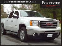 2013 GMC Sierra 1500 SLE, Summit White, AWD / 4WD, 18""