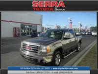 Serra Toyota of Decatur means business! Right truck!