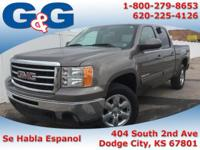 This gas-saving 2013 GMC Sierra 1500 SLT will get you