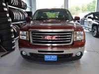 Options:  2013 Gmc Sierra 1500 Slt|Red|Here At The