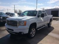 White 2013 GMC Sierra 2500HD Denali 4WD Allison 1000
