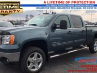 Certified. Steel Gray Metallic 2013 GMC Sierra 2500HD