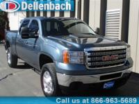 Climb inside the 2013 GMC Sierra 2500HD! You'll