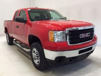 Options:  2013 Gmc Sierra 2500Hd Work Truck|Red|*Rare!