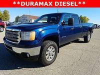 Options:  2013 Gmc Sierra 3500Hd Sle|Blue|Priced Below