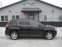2013 GMC Terrain SLT 4x4 with heated leather seating,