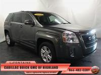 2013 GMC Terrain SLE-1 in Gray Green Metallic, One