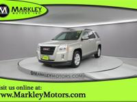 Our handsome Champagne Silver Metallic 2013 GMC Terrain