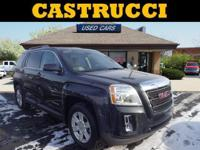 New Price! CARFAX One-Owner.   Black 2013 GMC Terrain