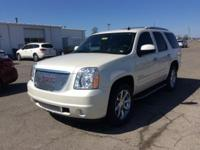 White Diamond 2013 GMC Yukon Denali RWD 6-Speed