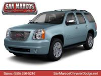 Boasts 18 Highway MPG and 14 City MPG! This GMC Yukon