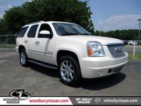 Clean CARFAX. White Diamond Clearcoat 2013 GMC Yukon