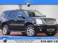 Options:  2013 Gmc Yukon Denali Black 6.2L V8 Automatic