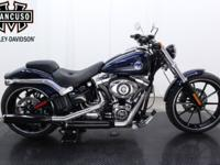 2013 FXSB Softail Breakout Big wheels, big paint and
