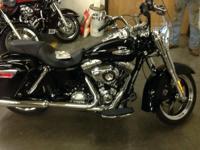 2013 Harley Davidson FLD Dyna Switchback. Brand new