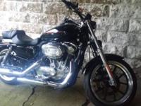 2013 Harley Davidson 883 Sportster, XL883L BLACK W/