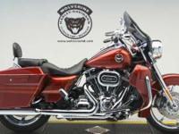 The H-D CVO Road King model offers custom extended