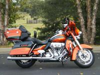 the 2013 Harley-Davidson CVO Ultra Classic Electra