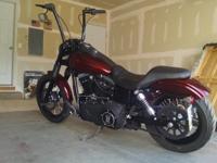 ''''2013 Harley Davidson Dyna Street bob A flawless