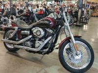The Super Glide Custom bike is true to its name with