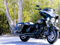 Blacked Out 2013 Electra Glide Classic 103 CI Motor,