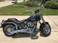 2013 Harley Davidson FATboy. Ride with badlands solo