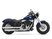 2013 Harley-Davidson FLS Softail Slim BLACK FORKS AND