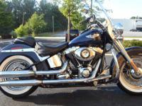 2013 Harley Davidson FLSTN Softail Deluxe      Blue