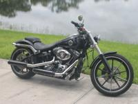 2013 Harley Davidson FXSB - 103 Breakout Bike is 100%