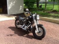 2013 Harley Davidson Slim Black Denim. Garage kept