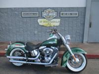 New for 2013 the Softail Deluxe comes with optional