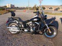 For 2013 the H-D FLSTFB Softail Fat Boy Lo design is