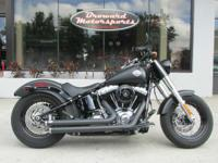 Harley-Davidson is the leader in fat custom dark