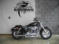 For 2013 the Sportster 1200 Custom model comes in a