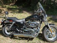 Beautiful 2013 one owner Harley Davidson Sportster 1200