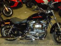 the 2013 Harley-Davidson Sportster SuperLow XL883L has