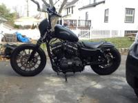 Custom Iron Bobber for sale. 3,8XX miles. If you're