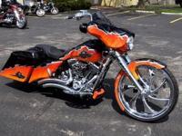 2013 Harley Davidson Street Glide Custom - 5500