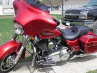 2013 Harley Davidson Street Glide with simply 273