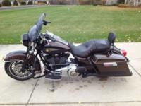 2013 Road King 110th Anniversary motorcycle. I